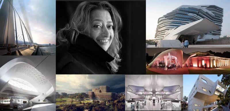 Zaha Hadid 巨星驟逝 以系列作品回顧表達敬仰之意;圖片編輯/吳宜晏