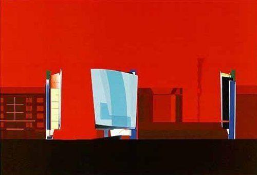 Kurfürstendamm in Berlin (1986);圖片提供/ Zaha Hadid Architects
