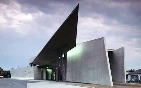 Vitra Fire Station in Weil Am Rhein, Germany ;圖片提供/ Zaha Hadid Architects