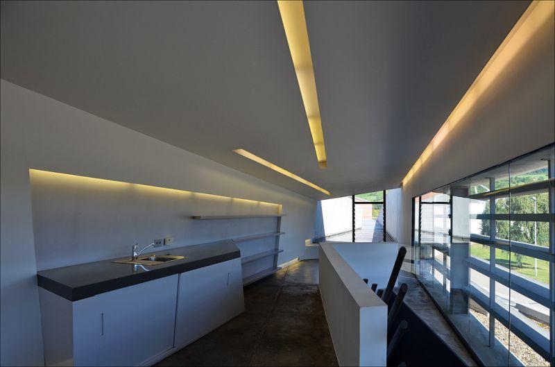 Vitra Fire Station in Weil Am Rhein, Germany;圖片提供/ Zaha Hadid Architects