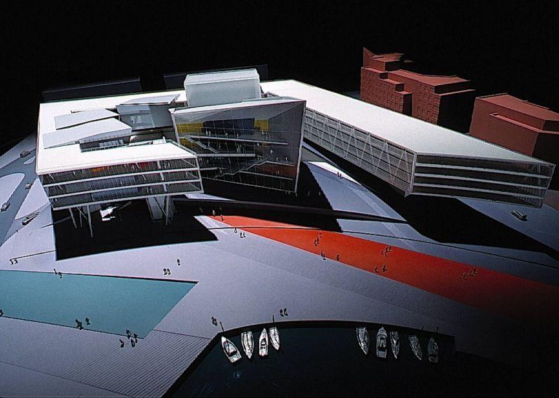 Cardiff Bay Opera House in Wales (1994);圖片提供/ Zaha Hadid Architects