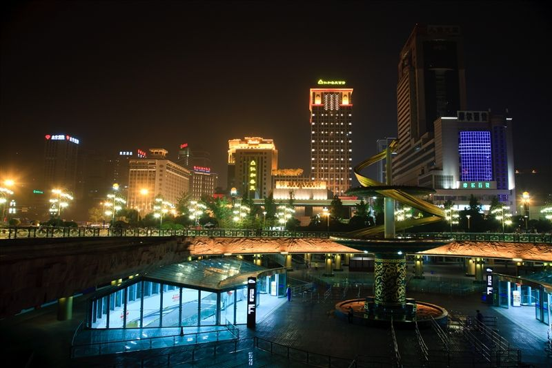 天府廣場-人民南路(Photo/成都官網)