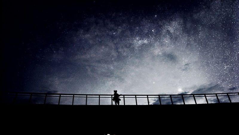 發揮巧思,運用APP也能拍出美麗的星空。圖/手機攝影達人王小路 提供