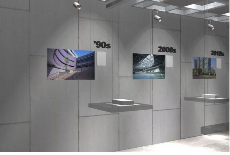 學生時光與城市提案展場模擬;圖片提供/國立臺灣科技大學設計學院