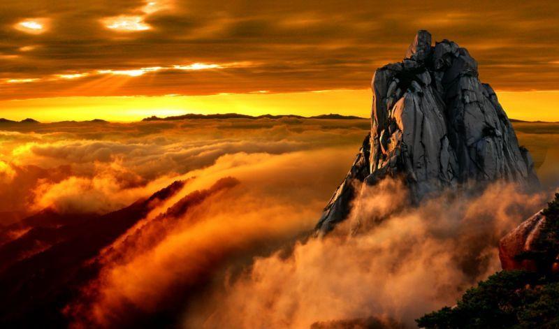 天柱山美景。圖片來源:安徽繁體官網 http://bit.ly/1RrPEo8