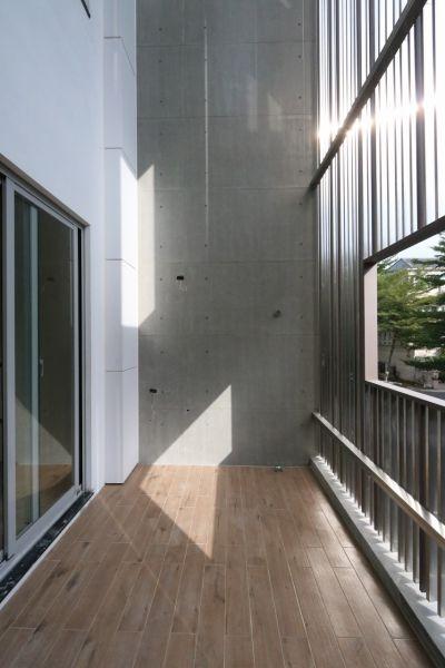 戶外陽台;圖片提供:大山建築與室內設計團隊