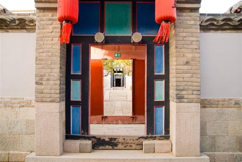 建築第一怪,穿堂門兒一線開。圖片來源:山東繁體旅遊網