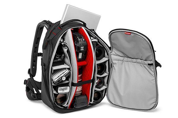 訴求攜帶較多器材的相機包,有時候器材配置的空間會達到80~90%以上 圖/翻攝自正成集團網站