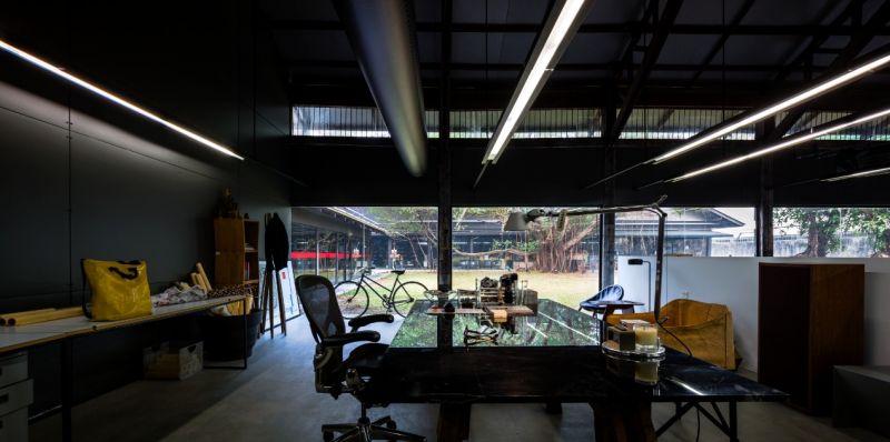 由舊倉庫改造的DBALP事務所辦公區;圖片提供/DBALP