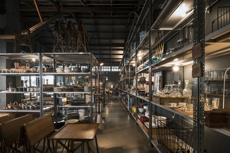 The Jam Factory園區內傢俱販賣區;圖片提供/DBALP