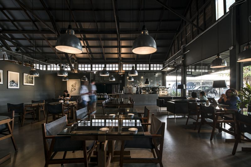 The Jam Factory園區內咖啡店;圖片提供/DBALP