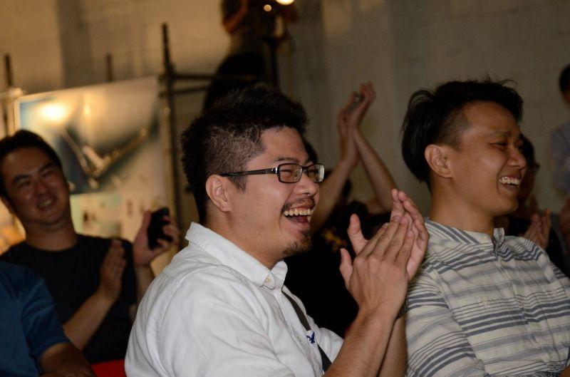 系友在台下聽取台上講演互動頻繁;攝影/李政霖