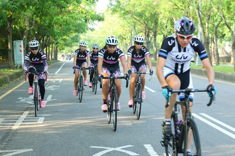 Liv女子自我挑戰50K,為全台專屬的女性自行車活動(捷安特提供)