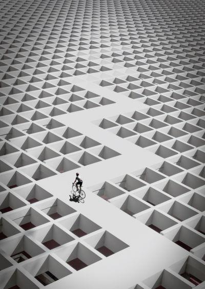 〈曲折的人生,讓你看見不同的視野〉 圖/Peter Wang 提供