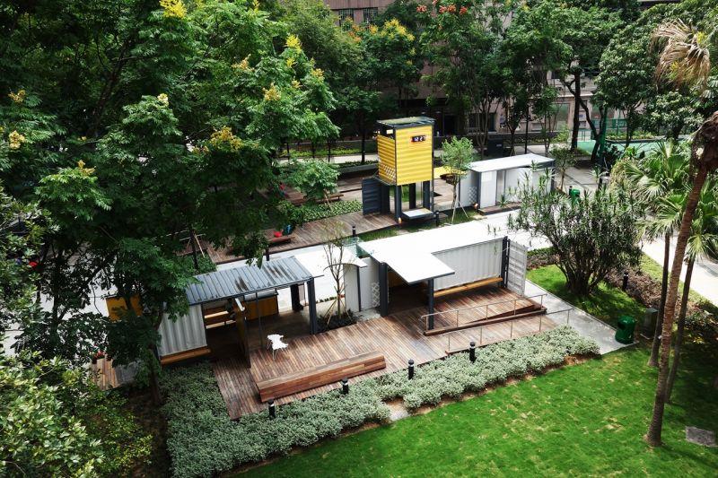 駿業街公園展覽亭/王維仁建築設計研究室;圖片提供:2016實構築策展單位