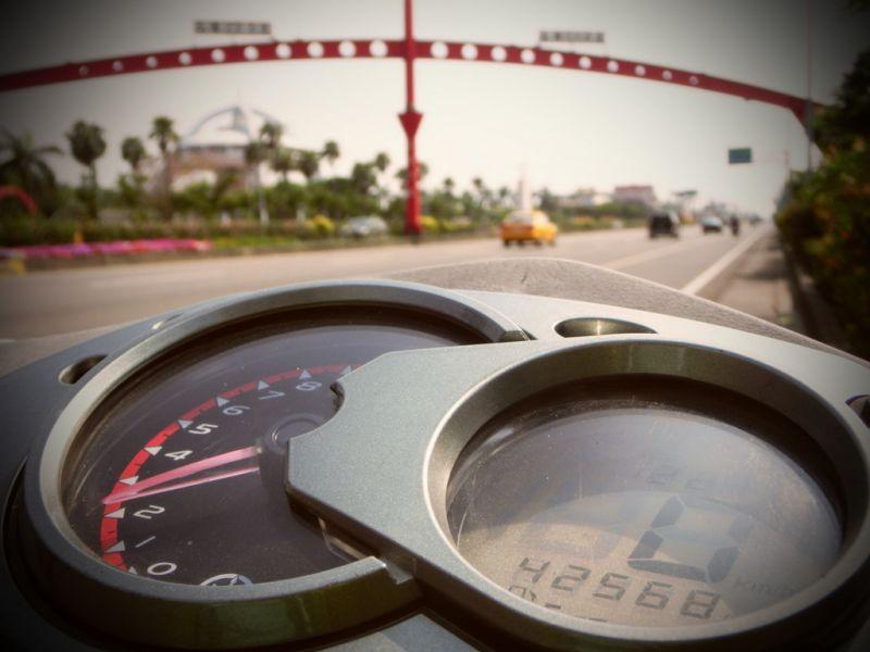機車環島十天的油資大約1,500元,不花大錢也能一圓環島夢。(17度C提供)