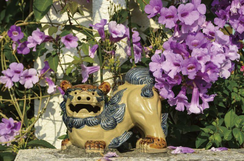 沖繩離島處處都可以看到石獅像,有各種顏色、各種表情,栩栩如生。(Photo│123RF)