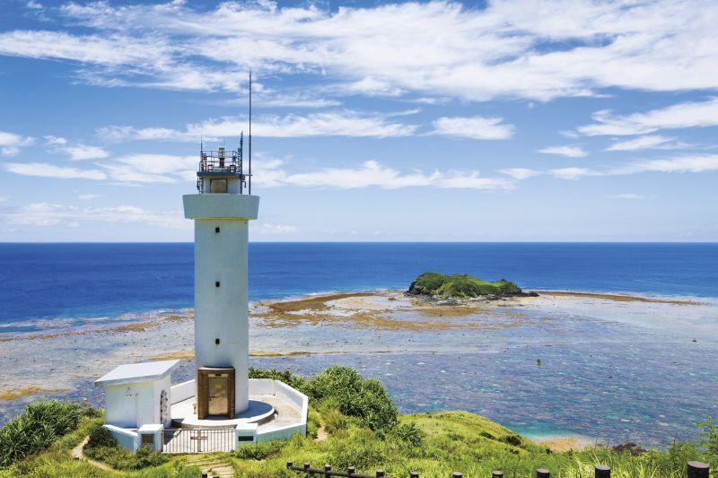 石垣島最北端的平久保崎燈塔,此處景致極為迷人。(Photo│123RF)