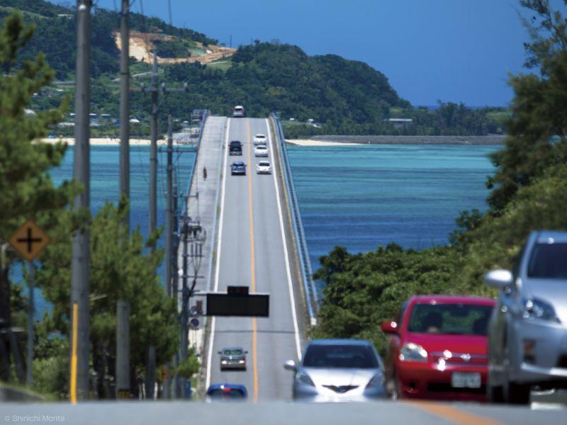 許多人都是因為這幅美景而開始認識古宇利島。(Photo flickr CC@Shinichi Morita)