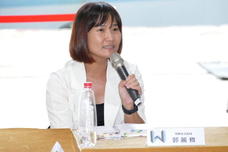 基隆市文化局文化資產科郭麗雅科長;攝影/蘇國輝
