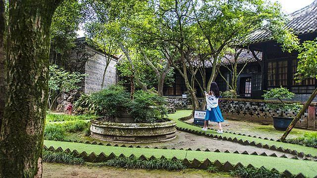 劉公館宅內(圖片來源:http://bit.ly/2bjNo5V)