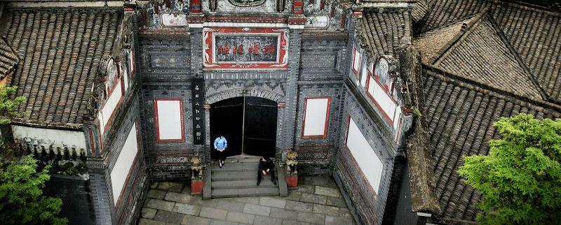 劉氏莊園門樓(圖片來源:成都文旅網http://www.cdctg.com/)