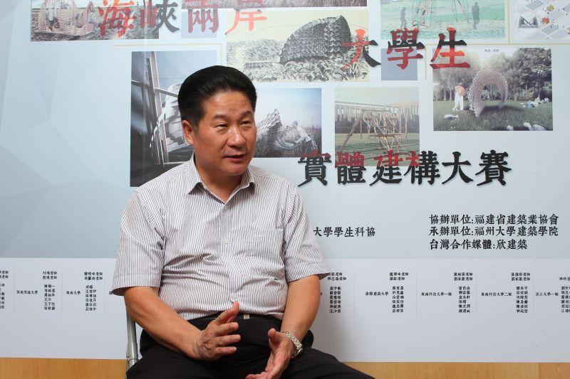 中建海峽建設發展有限公司副總經理張俊華;攝影/盧育君