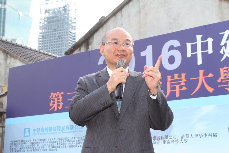 中華青年交流協會理事長張昌吉博士;攝影/盧育君