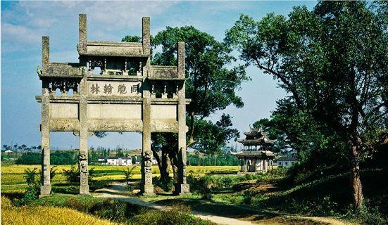 [黃山古鎮尋] (三) 中國水口園林第一村-唐模古鎮