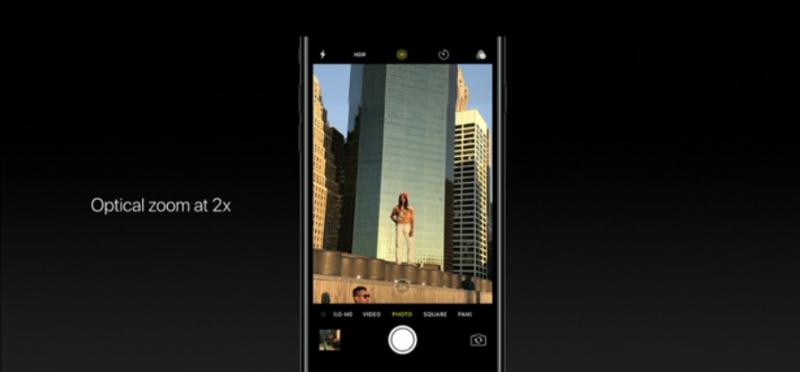 iPhone 7 Plus多了2 倍光學變焦 圖/翻攝自官網
