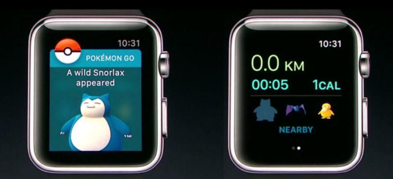 直接在Apple Watch上探索寶可夢! 圖/翻攝自官網