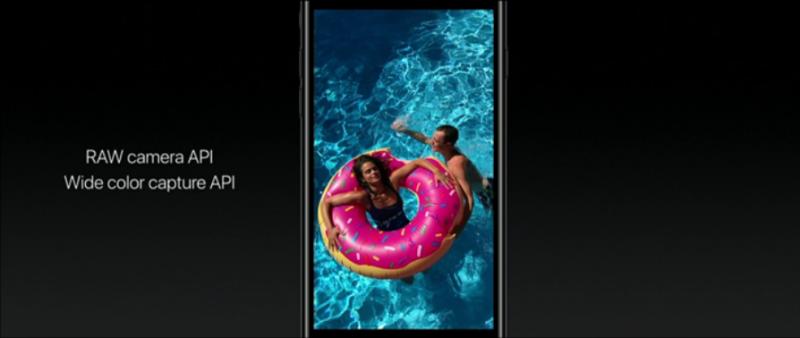 未來能升上iOS 10的手機就能支援RAW檔拍攝 圖/翻攝自官網
