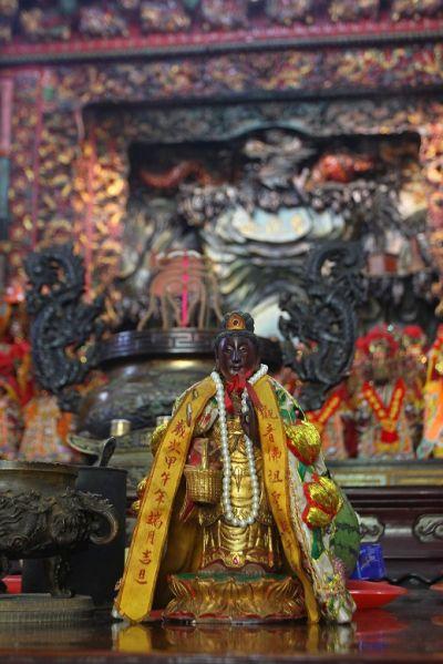 卯澳信仰中心利洋宮,是全台唯一的提籃觀音廟。(盧育君攝影)
