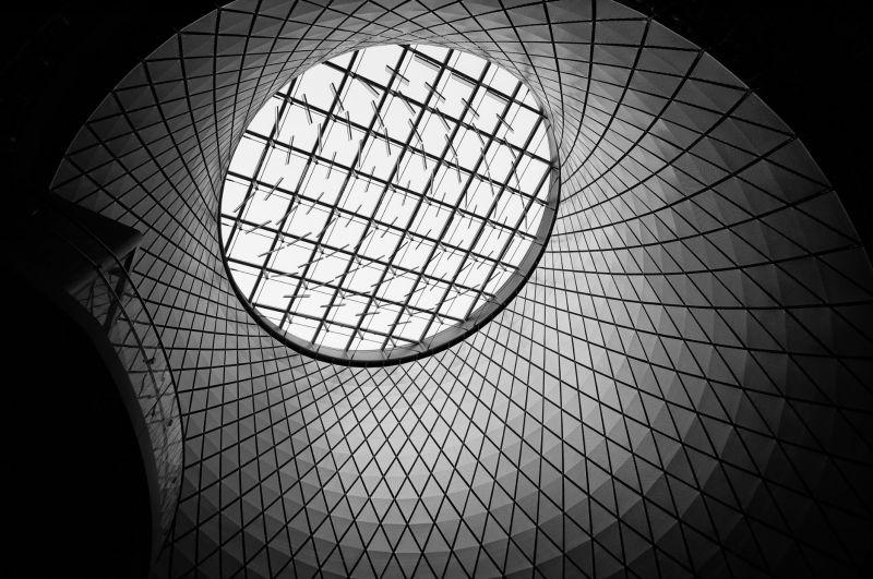 (Fulton St Station, NYC / 2015)車站屋頂一隅。圖/七七 提供
