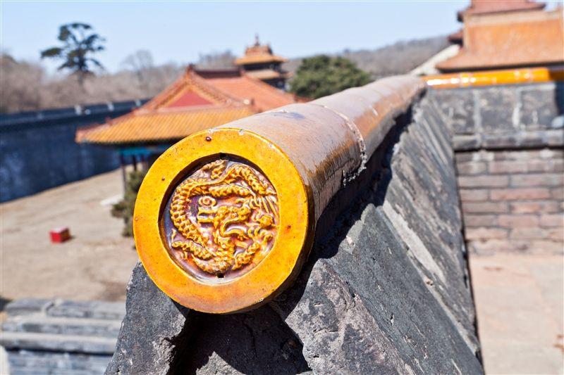 許多細節都可看出當年皇陵的精緻華麗。