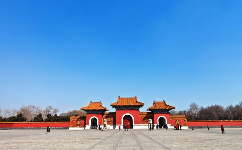 作為「萬年龍虎抱,每夜鬼神朝」的清昭陵,是瀋陽盛京三陵中規模最大,