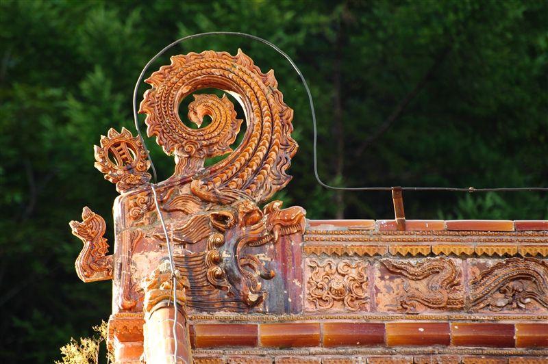 一些建築細節可以看出保留滿族後金時期的風格。