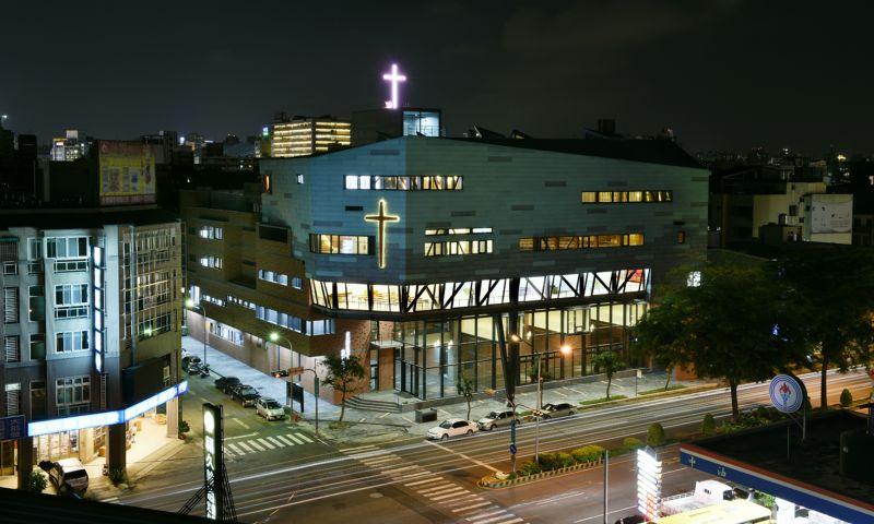 台灣基督長老教會忠孝路教會,立聯合建築師事務所;圖片提供/建築師雜誌社