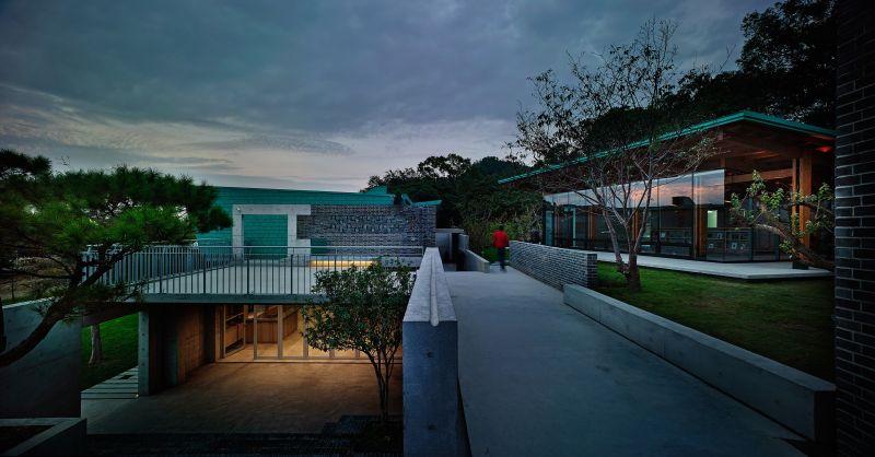 毓繡美術館,立聯合建築師事務所;圖片提供/建築師雜誌社