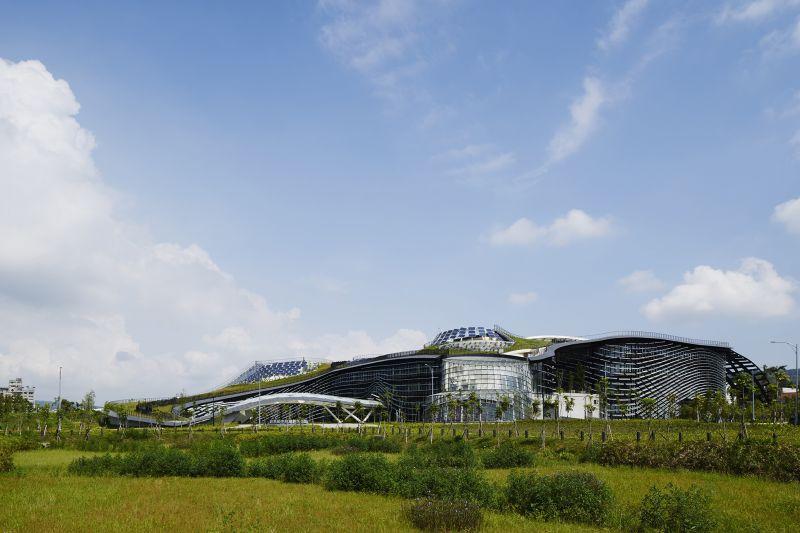 經濟部中台灣創新園區,九典聯合建築師事務所+Noiz Architects;圖片提供/建築師雜誌社