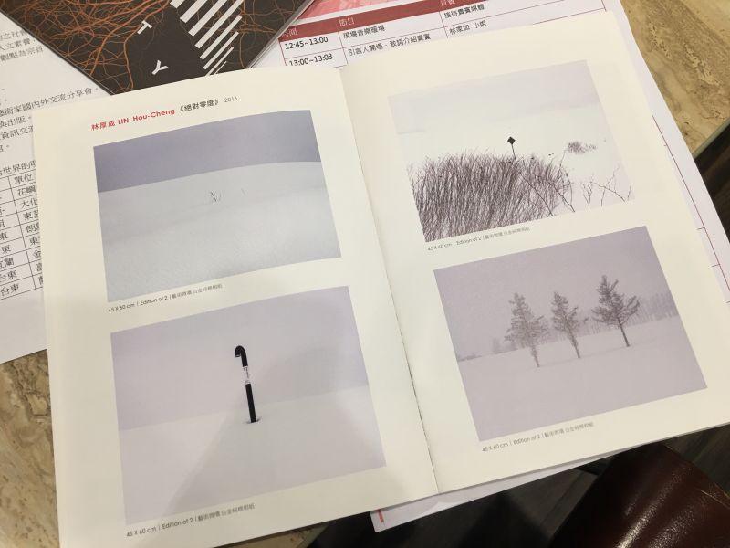 林厚成《絕對零度》/翻攝自展覽手冊