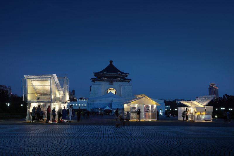 特別獎作品《溢遊建築—城市浮洲計畫》;圖片提供:忠泰建築文化藝術基金會
