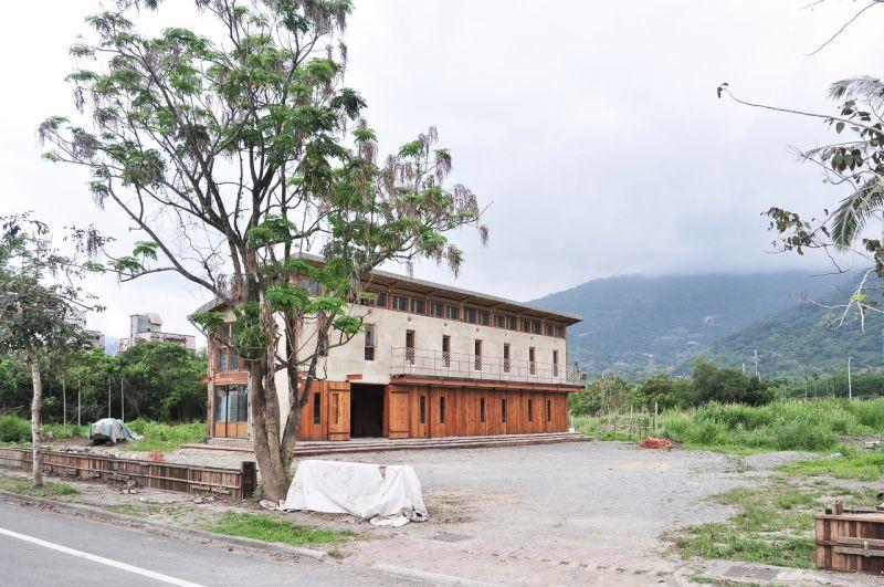 首獎作品《青林書屋》;圖片提供:忠泰建築文化藝術基金會