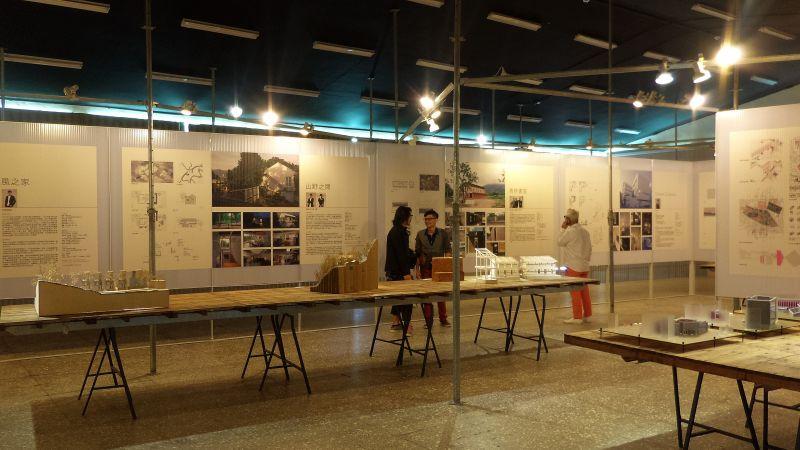 ADA新銳建築獎特展會場;攝影:王進坤